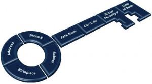 key to identity theft