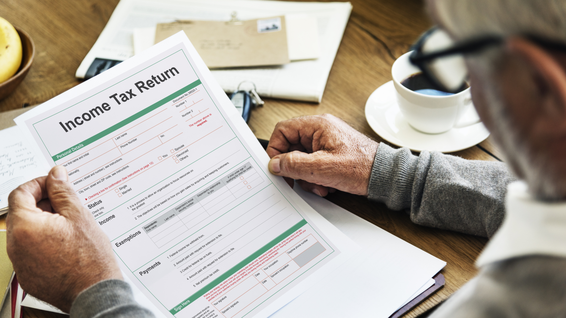 Itemize or standard deduction?